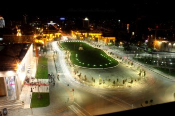 Tirana Night View